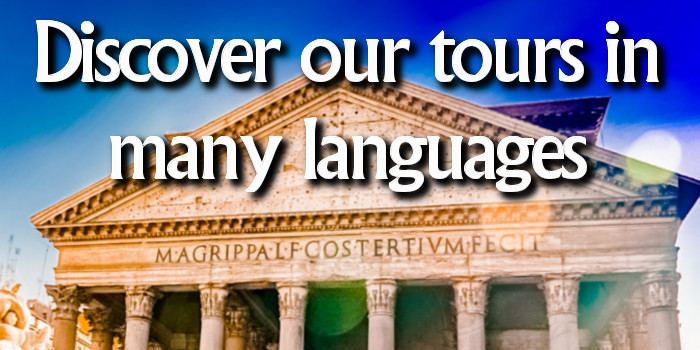 Discover our tours in many languages