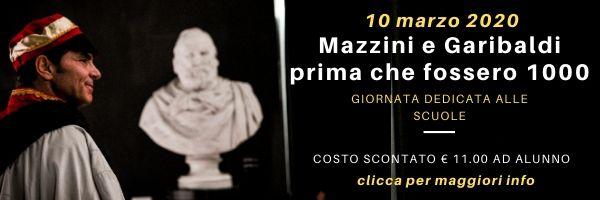 10 marzo visita teatralizzata Museo Garibaldino