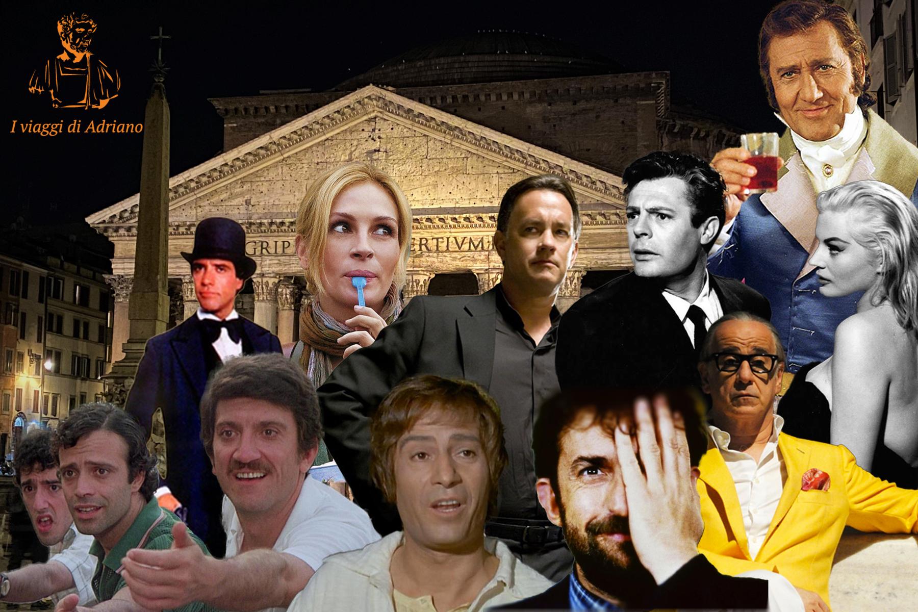 I luoghi del cinema a Roma.